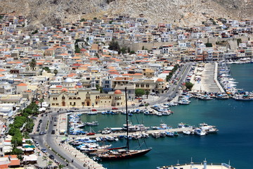 kalymnos harbour