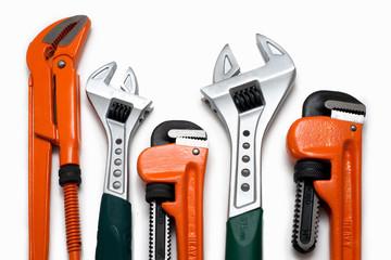 Plumbing tools set