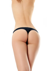 Beautiful naked body of woman.