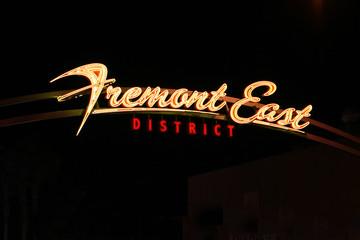 Famous Fremont Street Sign - Las Vegas