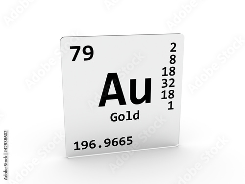 Gold symbol au element of the periodic table stock photo and gold symbol au element of the periodic table urtaz Choice Image