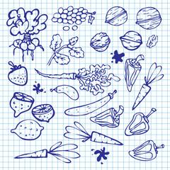 doodles  kitchenware 1
