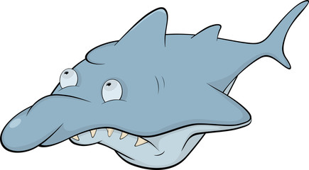 Shark. Cartoon