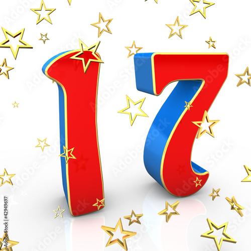 17 Years Old - Happy Birthday