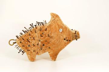 Holzschweinchen