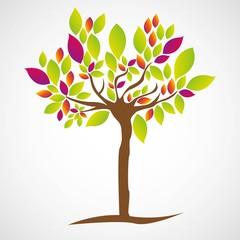 Simple illustration of tree