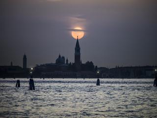 Sunset Venice Italy