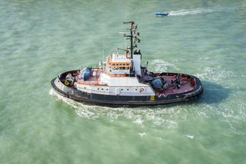 Tug Boat Venice Italy