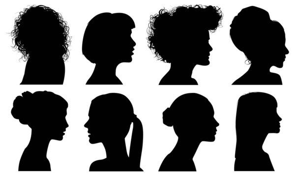 Silhouette hair style