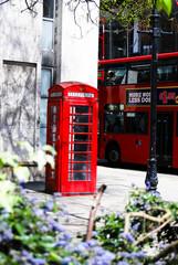 cabine londonienne