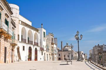 View of Cisternino. Puglia. Italy.