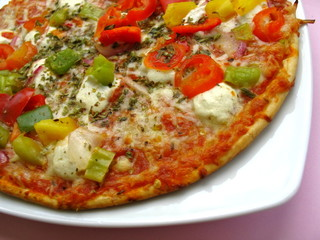 Pizza vegetale