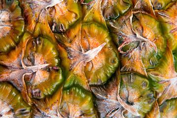 Pineapple fruit background