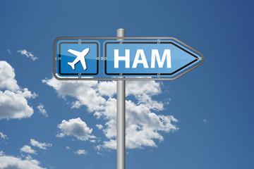 Hamburg (HAM) international Airport