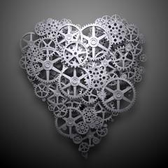 Heart symbol mechanism