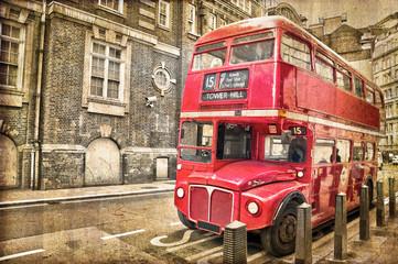 Bus vintage à Londres