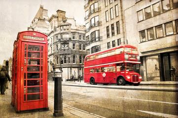 London Fleet street vintage