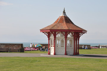 Victorian seaside shelters