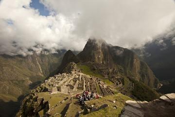 Machu Picchu tra le nuvole