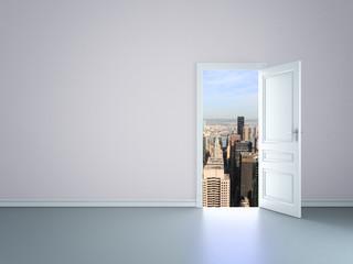 door to new york