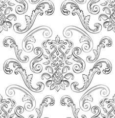 Swirl seamless card