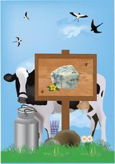 cartello formaggio