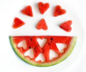 Watermelon Hearts Segment
