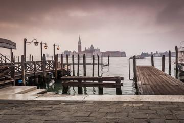 early morning Venice Italy