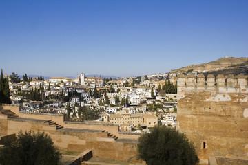 Granada from Alhambra.