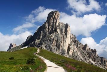 La Gusela mountain, Passo Giau, Dolomiti, Italy