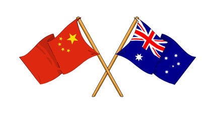 China and Australia alliance and friendship