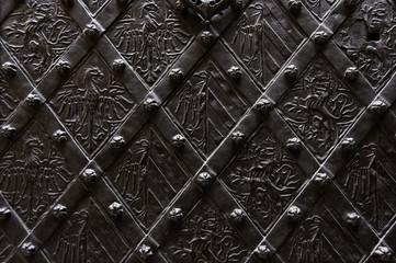 Wrought iron background