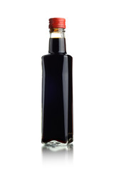 A bottle of soy sauce