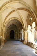 Cloister of Se Velha in Coimbra, Portugal