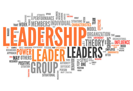 """Word Cloud """"Leadership"""""""