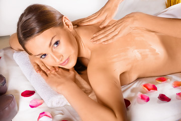 In the spa - relaxing beauty
