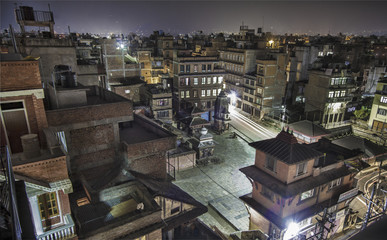 Nepal: Kathamndu - The capital at night