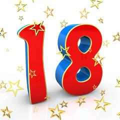 18 Years Old - Happy Birthday