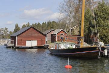 Stockholm archipelago setting