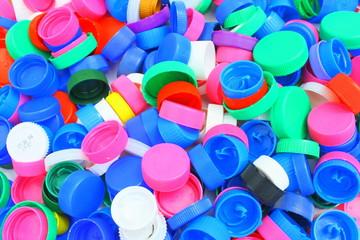 bouchons plastiques pour recyclage