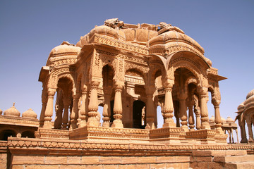 Bada Bagh in Jaisalmer India
