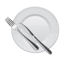 dish and flatware