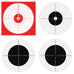 WEB ART DESIGN RIFLE TARGET CIBLE TIR 010