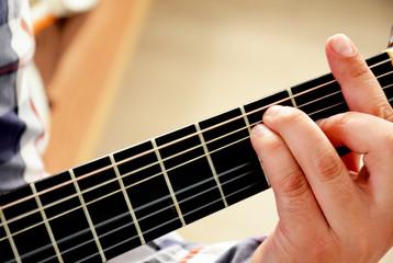 Guitar F cord