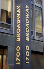 Broadway Sign New York