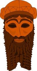 Akkadian mask