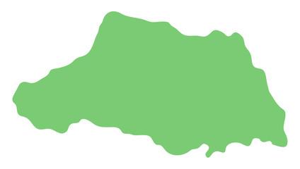 埼玉県の地図