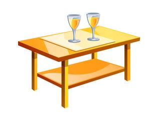 vector icon table