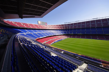 Self adhesive Wall Murals Barcelona football stadium