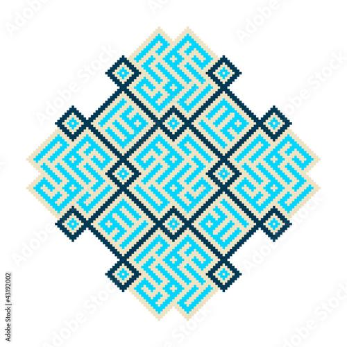 Orientalisches Mosaik Muster 2